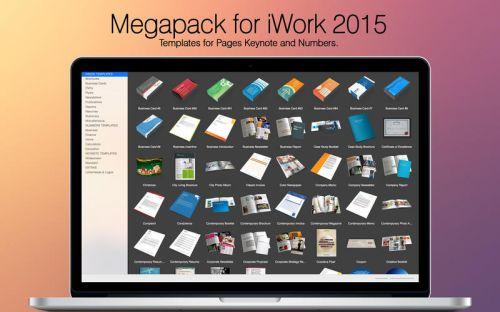 Megapack for iWork 2015 v2.2 (Mac OS X) (9/2/2015)