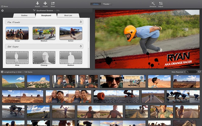Apple iMovie 10.0.7 Multilingual (Mac OS X) (12/3/2015)