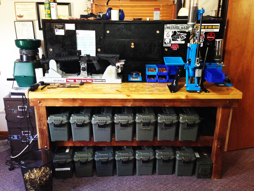 garage work station ideas - Building the ULTIMATE Reloading & Gun Workbench